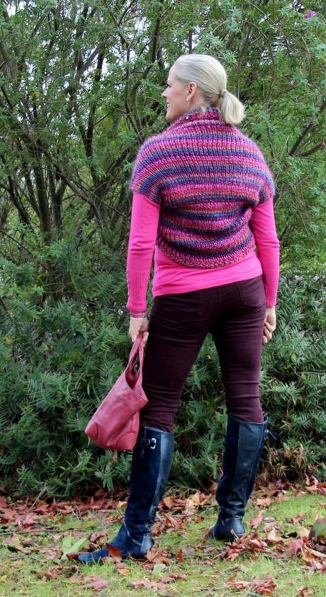 How to knit the easiest shrug ever