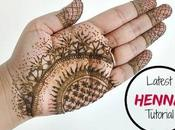 Instagram Henna Modern Latest Mehndi Tattoo Design With Flowers An...