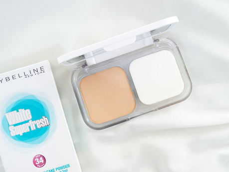 Save Yourself From Retouching with Maybelline White Superfresh Cake Powder