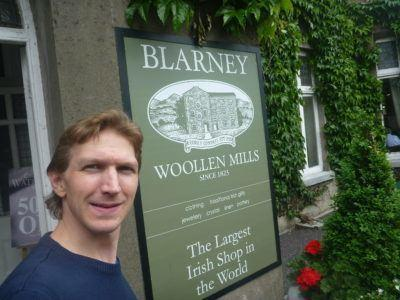 Largest Irish Shop in the world at Blarney Castle and Gardens