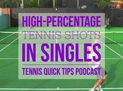 High-Percentage Tennis Shots Singles Quick Tips Podcast