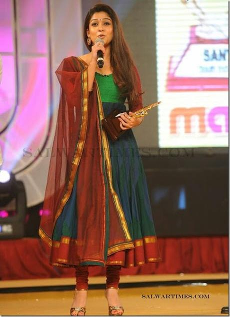 Top 11 Anarkali Salwars Looks By Nayanthara