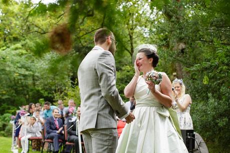 Weddings at Derwentwater Youth Hostel outdoor ceremony