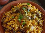 Mushroom Biryani |How Make