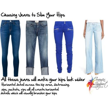 How to Choose Jeans Styles to Flatter Your Hips