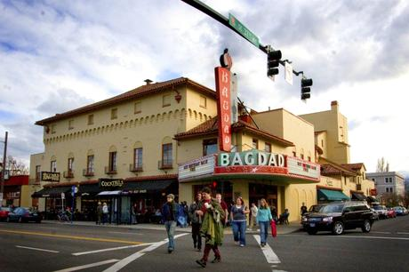 McMenamins Bagdad Theater & Pub in SE Portland, OR.