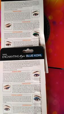 VLCC Enchanting Eyes Green & Blue Kohl Review, Swatches and Application