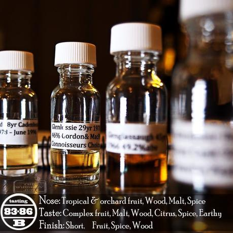 1978 Connoisseurs Choice Glenlossie 29 Years Review