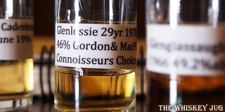 1978 Connoisseurs Choice Glenlossie 29 Years Label