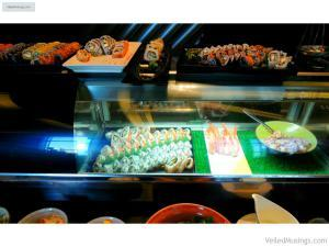 Japanese food station - Family Lunch at Café Eight, Crimson Hotel
