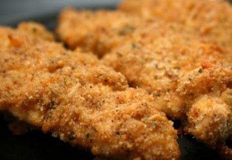Cheddar & Garlic Fried Chicken