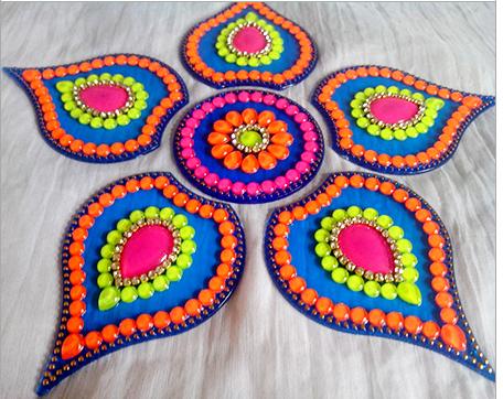 The intricate and beautiful patterns of Rangoli