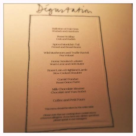 degustation menu restaurant andrew fairlie gleneagles scotland review glasgow foodie explorers