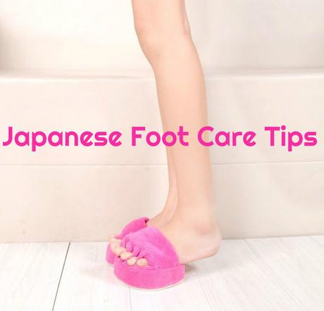 Japanese Foot Care Tips