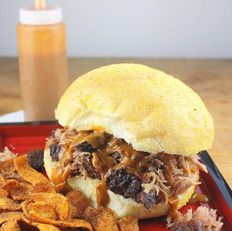 Pulled Pork with South Carolina Mustard BBQ Sauce