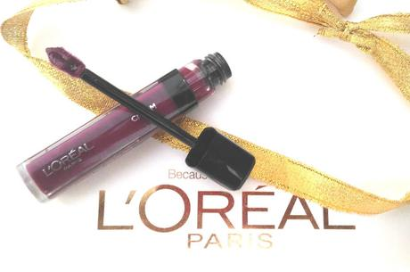 L'Oreal Paris Infallible Mega Gloss in Who's the Boss Review