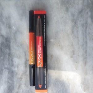 NYX Ombre Lip Duo in Peaches & Cream