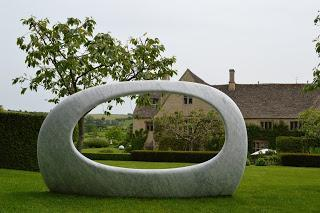 on form - Sculpture exhibtion at Asthall Manor