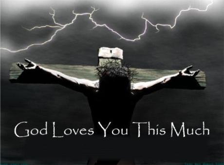 Jesus loves us this much