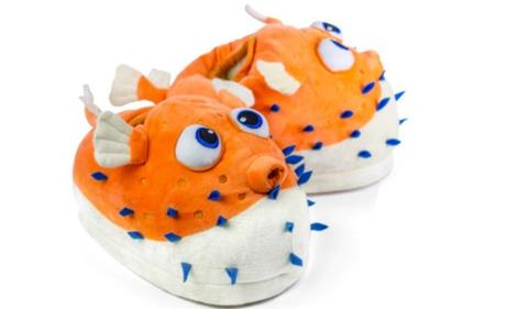 Pufferfish Slippers