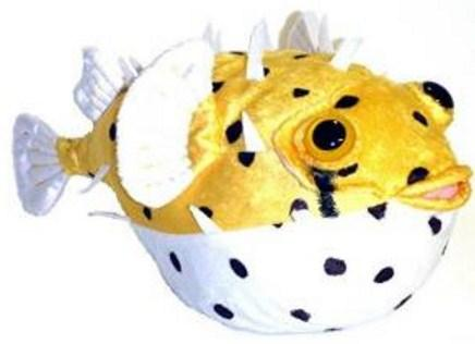Pufferfish Stuffed Animal Toy