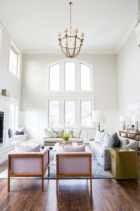 Dream home:  Lots of natural light, architectural details, and beautiful colors