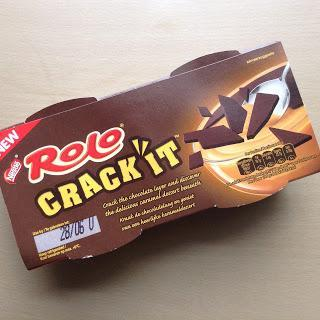 Rolo crack it dessert