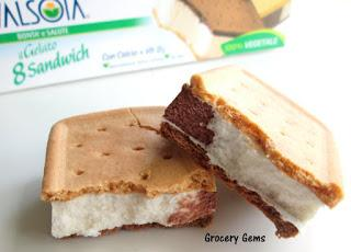 Review: Valsoia Gelato Ice Cream Sandwich (Vegan)