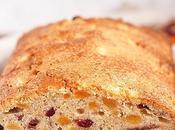Apricot Cranberry Walnut Quick Bread #BreadBakers