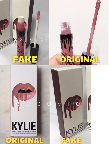 How To Spot A Fake Kylie Jenner Lip Kit? And Where Not To