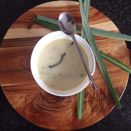 Thai Inspired Coconut & Chicken Soup