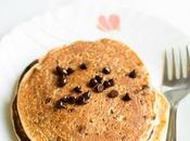 Chocolate Chip Pancakes Eggless Wheat