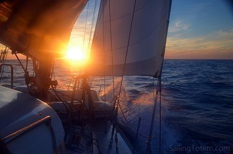 1 sunset at sea