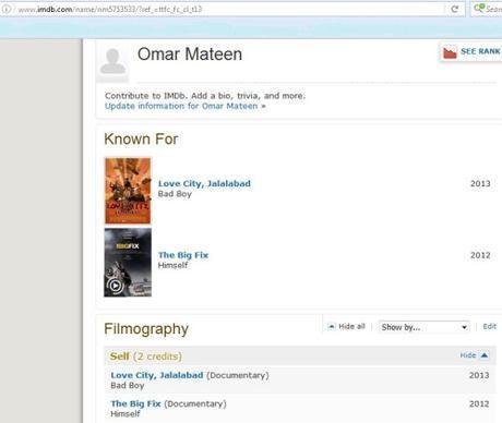 Omar Mateen on IMDb