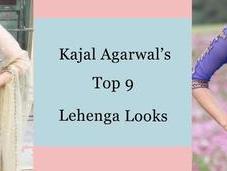 Kajal Agarwal's Lehenga Looks