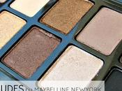 Nudes Palette from Maybelline York Review Swatches