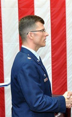 Maj. Michael Sovitsky, Commander of 349th Aircraft Maintenance Squadron, in 2012. (Source)