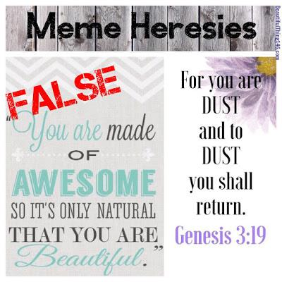 #memeHeresies on Facebook, how to spot them and how to refute them