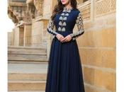 Three Salwar Suits Latest Trend Ladies