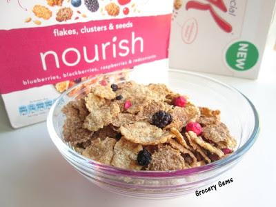 Review: New Kellogg's Special K Nourish