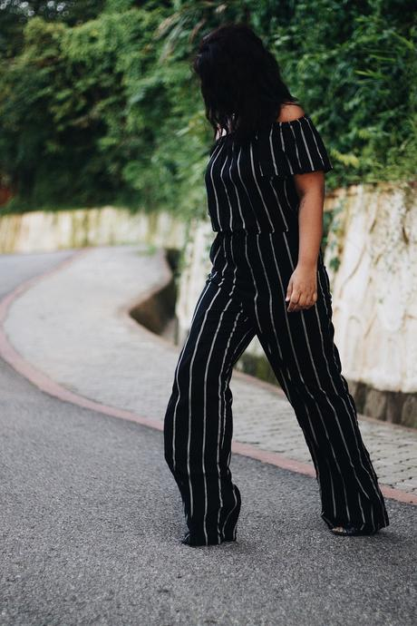 Forever21 Jumpsuit - Summer Fashion - SS16 - River Island Heels - Selestyme - Indian Fashion Blogger - Chayanika Rabha