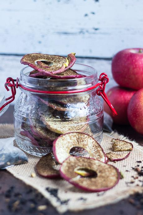 Chai Spiced Apple Chips | The Recipe Redux