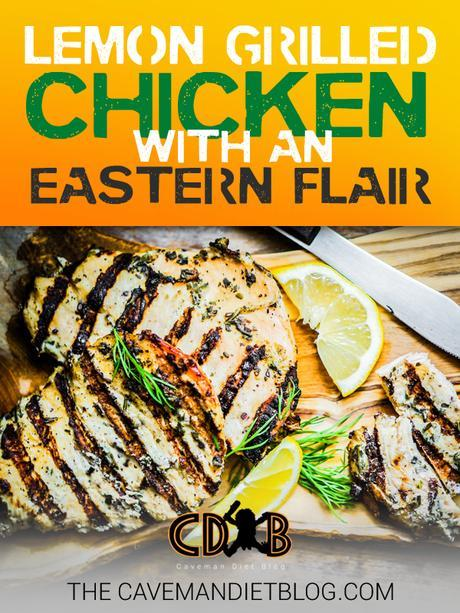 Paleo Dinner Recipes: Lemon Grilled Chicken with an Eastern Flair main image