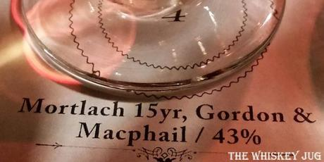 Gordon and Macphail Mortlach 15 Years Label