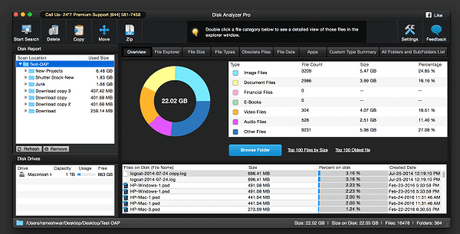 Disk Analyzer Pro: Disk Cleanup & Management App for Mac
