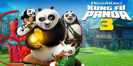 Kung Fu Panda 3 - Just in time for School Holidays