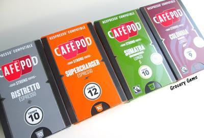 review caf pod coffee pods nespresso compatible 20 discount code paperblog. Black Bedroom Furniture Sets. Home Design Ideas
