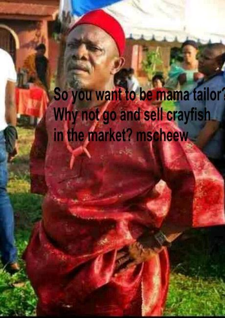 Dealing with Nigerian Tailors