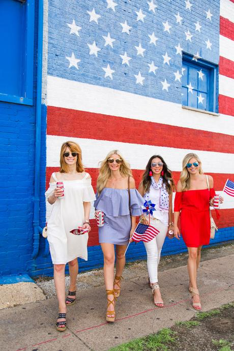 Chic at Every Age // Red, White, and Blue