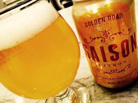 Beer Review – Golden Road Saison Citron